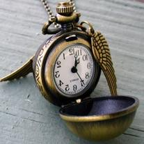 Legendary Flying ball necklace steampunk pocket watch gsr