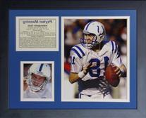 Legends Never Die Peyton Manning Colts - Away Framed