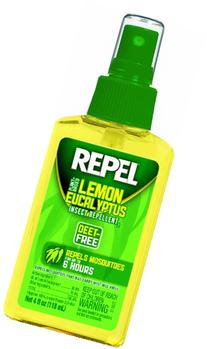 Repel Lemon Eucalyptus Natural Insect Repellent, 4-Ounce