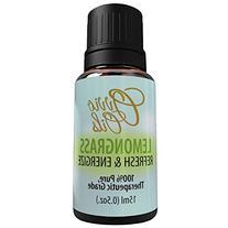 Ovvio Oils Lemongrass Premium Therapeutic Grade Essential