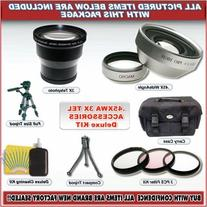 3x Lens Deluxe Kit for Nikon Coolpix 8800 +Accssories