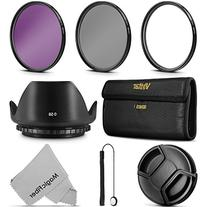 58MM Professional Lens Filter Accessory Kit  + Carry Pouch