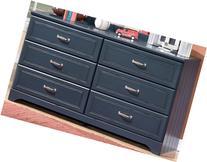 Leo Youth Bedroom Blue Dresser