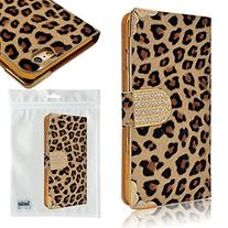 Seedan Leopard Skin Design Wallet Case for iPhone 6 4.7 inch