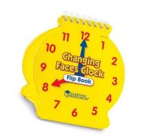 Learning Resources Ler3009 Student Changing Faces Clock