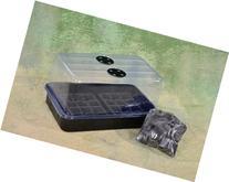 Level 2.1 Plant Propagation Cloning Kit: Humidity Dome, Tray