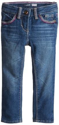 Levis' Little Girls' 711 Thick Stitch Skinny Jean, Wading