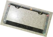 Lexus License Plate Frame made with Swarovski Crystals -