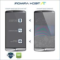 G3 Screen Protector, Tech Armor High Definition HD-Clear LG