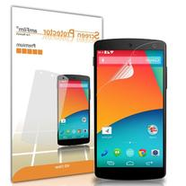 amFilm LG Google Nexus 5  Screen Protector Premium HD Clear
