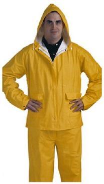 LG YEL PVC Rainsuit