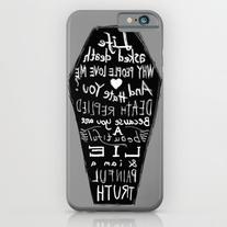 Life Asked Death... iPhone 6s Case