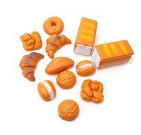 ZUINIUBI Life Sized 12 Piece Bread Set Pretend Play Toy Food