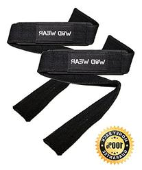 WOD Wear Lifting Straps For  Powerlifting, CrossFit,