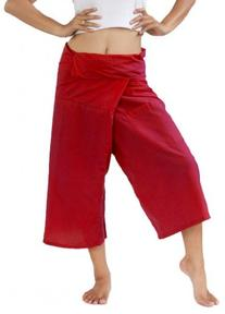 Siam Secrets Capri Fisherman Pants One-size 3/4 Length Yoga