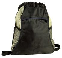 Light Weight Drawstring Tote and Backpack in One in Natural