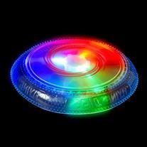 Flashing Panda LED Light-Up Flashing Flying Disc Frisbee
