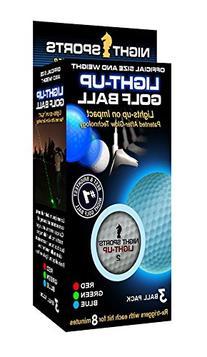 Night Sports USA Light Up Golf Ball