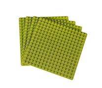 "Premium Light Green 5"" x 5"" Construction Base Plates - 4"