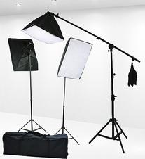 Fancierstudio 2400 Watt Professional Lighting Kit With Three