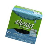 Always Lightly Scented Wipes-to-Go 20 CT