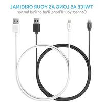 6ft / 1.8m Premium Lightning to USB Cable with Compact