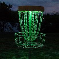 Set of 2 LED Lights for Disc Golf Basket, Multi Colored,