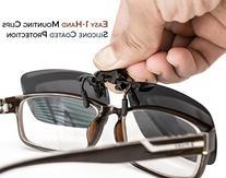 ElementsActive Polarized Clip-on Sunglasses Set with Flip Up