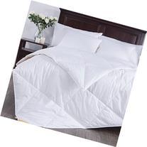 Puredown Lightweight White Goose Down Blend Comforter Duvet