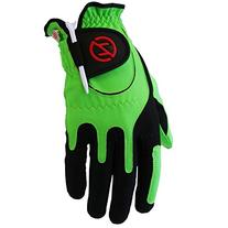 Zero Friction Men's Golf Glove, Left Hand, One Size, Lime