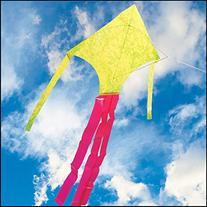 Lime Mylar Dart Kite