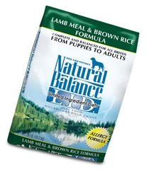 Natural Balance L.I.D. Limited Ingredient Diets Lamb Meal &