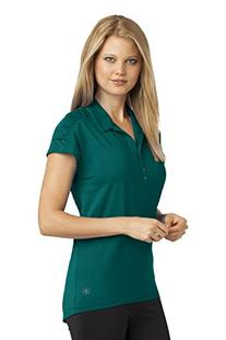 OGIO - Ladies Linear Polo Shirt - Fuel Green -L