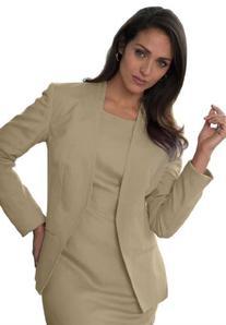 Jessica London Women's Plus Size Linen-Blend Blazer