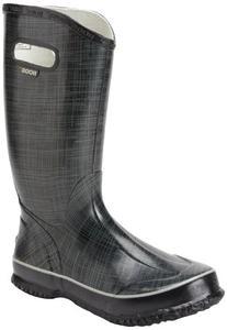 Bogs Women's Linen Rainboots Black Size 9 71434-001-9