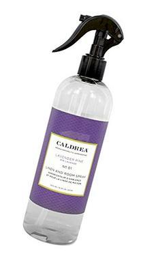 Caldrea Linen and Room Spray, Lavender Pine, 16 Fluid Ounce