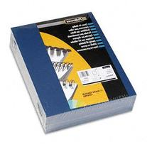 Fellowes Linen Texture Binding System Covers, 11 X 8-1/2,