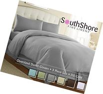 Southshore Fine Linens - 3 Piece Oversized Duvet Cover Set