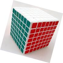 Shengshou 7x7 Linglong 69mm,mini 7x7x7 White Speed Cube