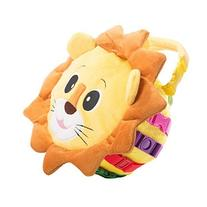 "BUCKLE TOY ""Benny"" Lion Bag - Toddler Early Learning Basic"