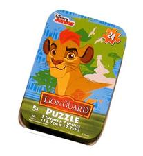 The Lion Guard Kion Jigsaw Puzzle in Travel Tin 24 Pieces
