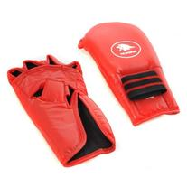 Lion Martial Arts Large Red Grappling Glove Pair