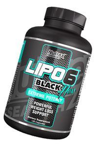 Nutrex Lipo-6 Black Hers - 120 Black-Caps