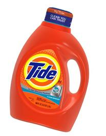 Tide Liquid Laundry Detergent, Clean Breeze, HE, 64 loads