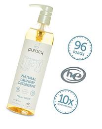 Puracy Natural Liquid Laundry Detergent, Sulfate-Free, THE