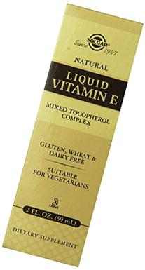 Solgar Natural Liquid Vitamin E Mixed Tocopherol Complex