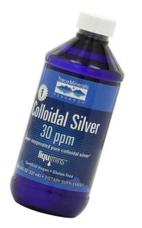 Trace Minerals Research Liquimins Colloidal Silver 30 ppm,