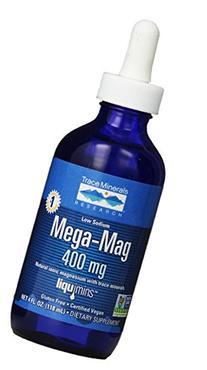 Trace Minerals Research LMM01 - Mega-Mag Liquid Magnesium, 4