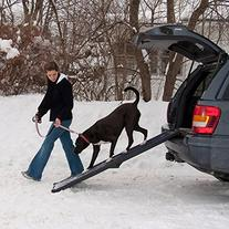 Pet Gear Travel Lite Bi-Fold Ramp for Cats/Dogs, Lightweight