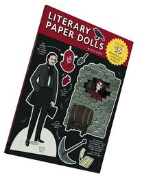 Literary Paper Dolls: Includes 16 Masters of the Literary